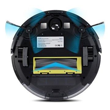 Saugroboter ILIFE A6 automatischer Staubsauger Roboter Test