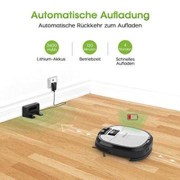 holife staubsaugroboter 28w mit kamera test und. Black Bedroom Furniture Sets. Home Design Ideas