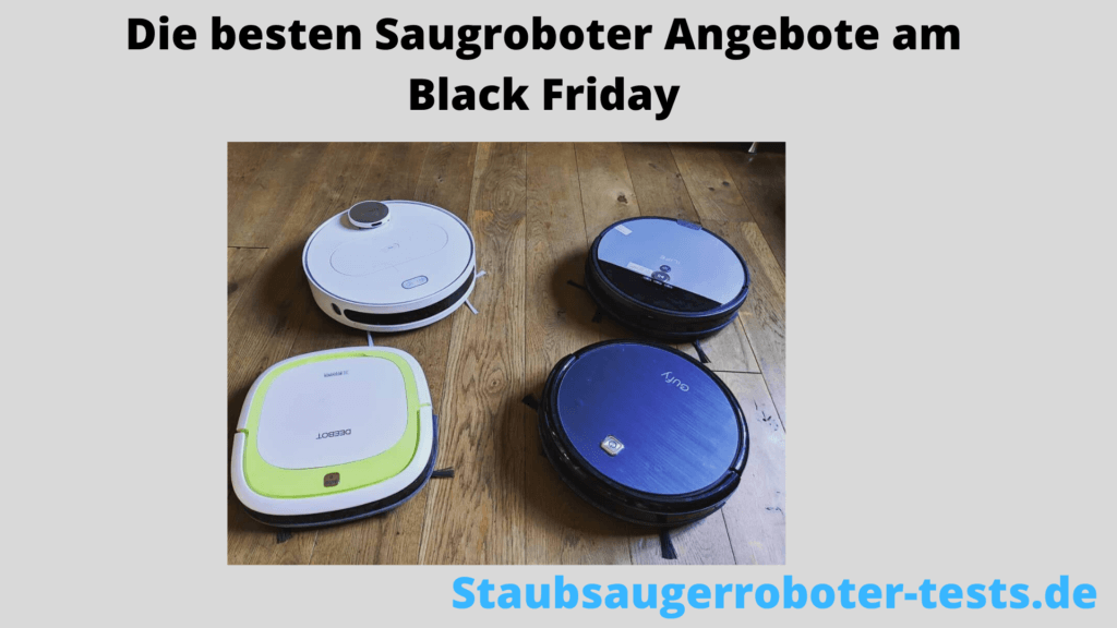 staubsauger roboter black friday