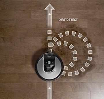 iRobot Roomba 960 Saugroboter Fahrtwege