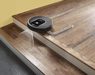 iRobot Roomba 960 Saugroboter Treppe