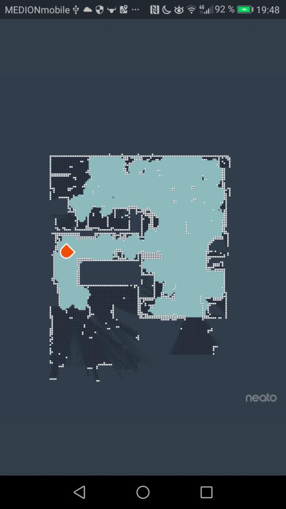 Saugroboter Karte