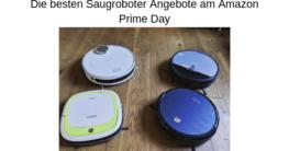 Die besten Saugroboter Angebote am Amazon Prime Day