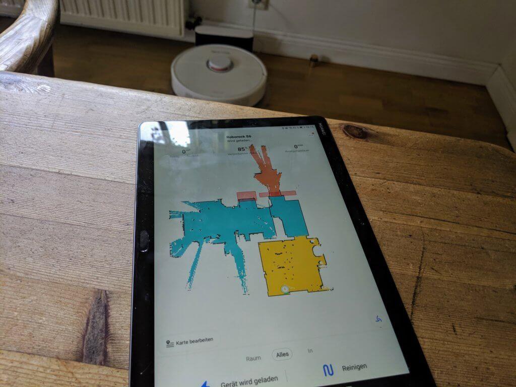 roborock app karte